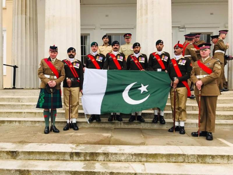 Pakistan Army wins Pace Sticking Competition in UK for second time in a row