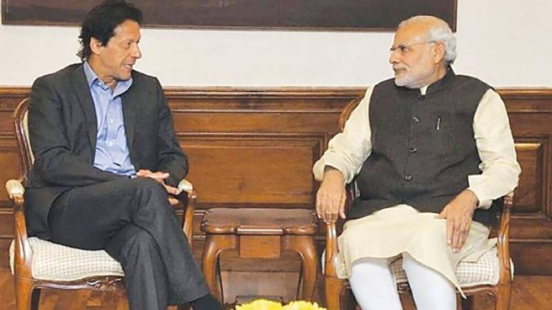 PM Imran, Narendra Modi exchange brief comments on sidelines of SCO moot