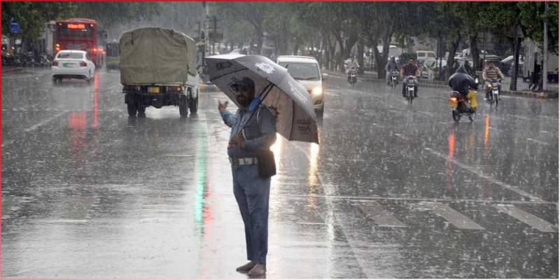 Rain brings respite from sultry heat in Lahore