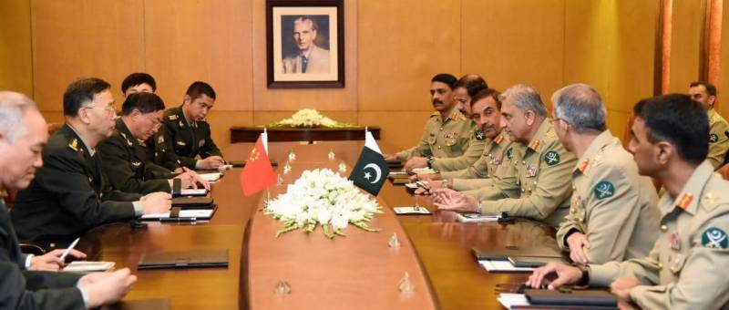 COAS Bajwa reaffirms unwavering support for CPEC security as Pakistan, China agree to expedite work on Eastern Corridor