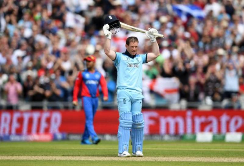 CWC 2019: Morgan sets up England win over Afghanistan with new sixes record