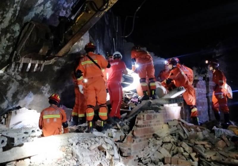 Earthquake in China kills 12, injures 134