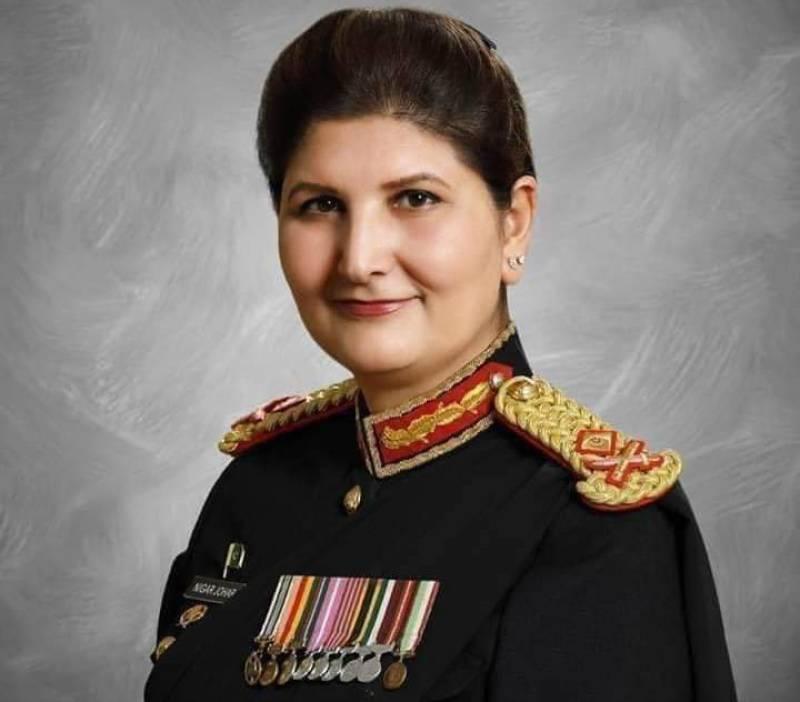 Meet Nigar Johar Khan - third woman to hold Major General rank in Pakistan Army