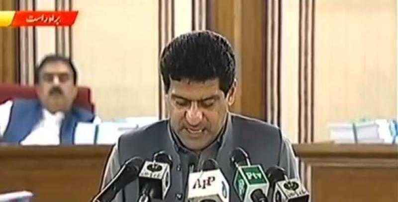 Balochistan presents Rs419.92 billion budget for FY2019-20
