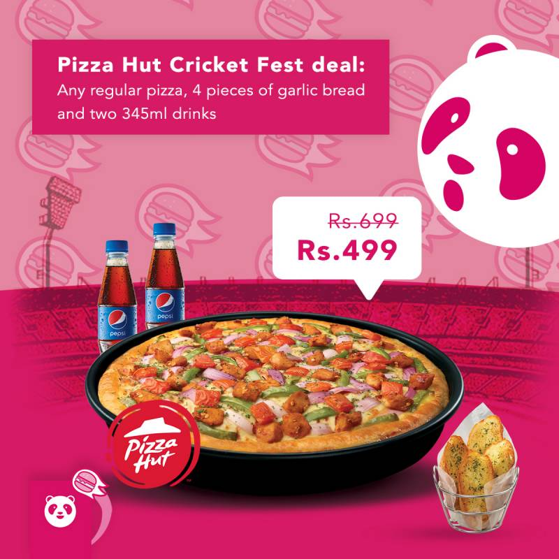 Celebrate cricket season with foodpanda and Pizza Hut's exclusive 'Cricket Fest Deal'
