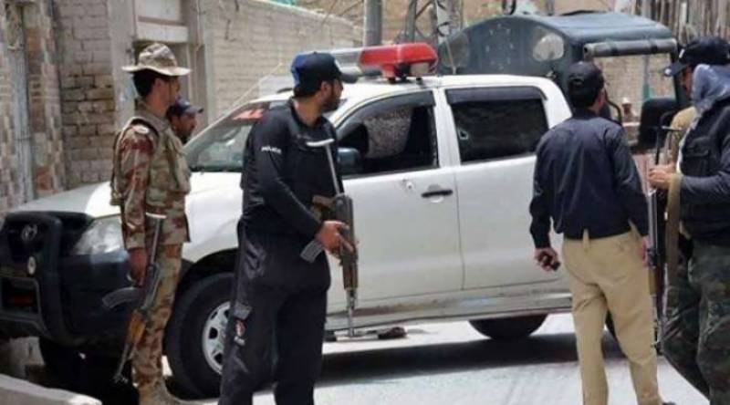 Three terrorists killed in attack on Police Line in Loralai