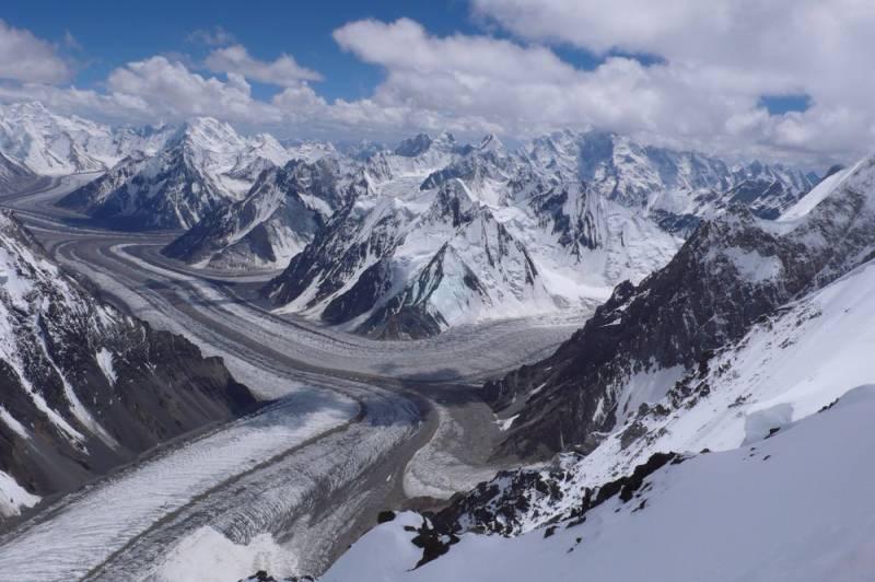 Shisper Glacier recedes after heavy water discharge; mitigates outburst flooding risk