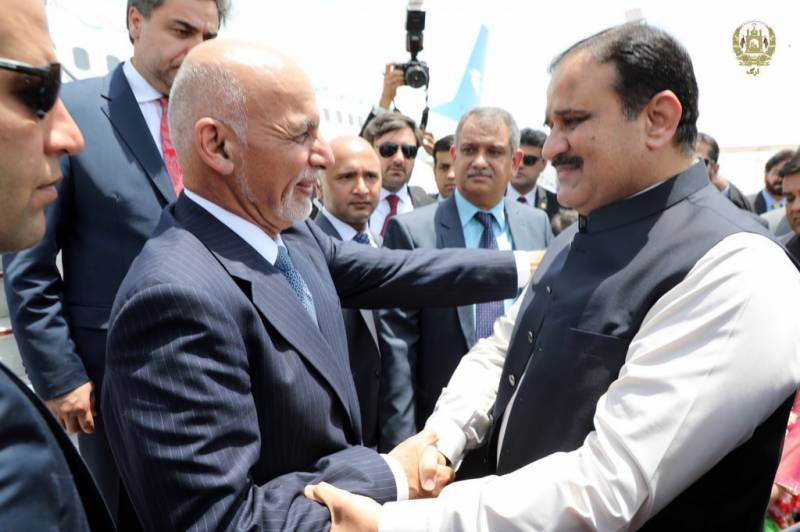 Afghan President Ashraf Ghani returns home after Pakistan tour