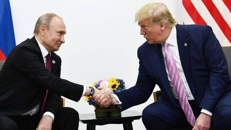 'Don't meddle in the election,' Trump tells Putin, with a smile