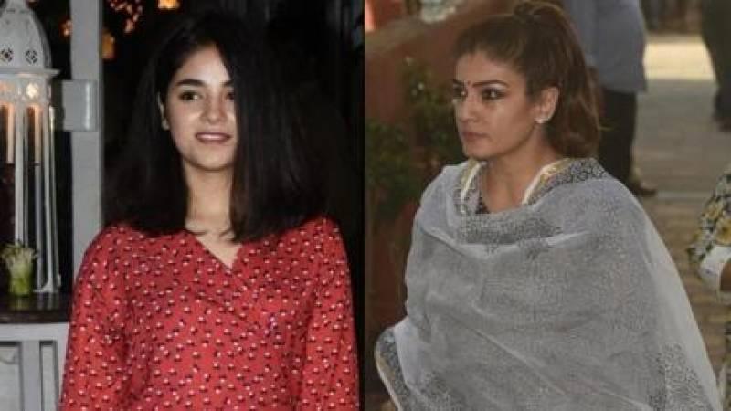 Raveena Tandon tells Zaira Wasim to keep her regressive views to herself