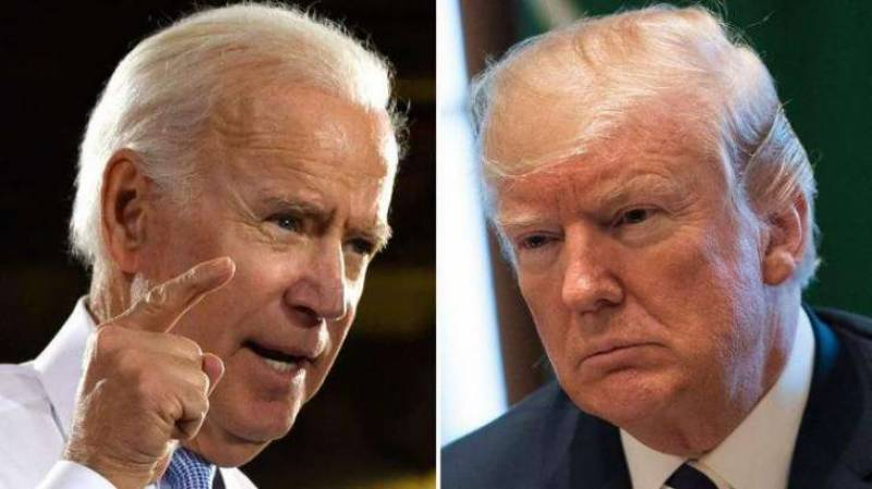 Biden beats Trump by 4 points in one-on-one match-up - Poll