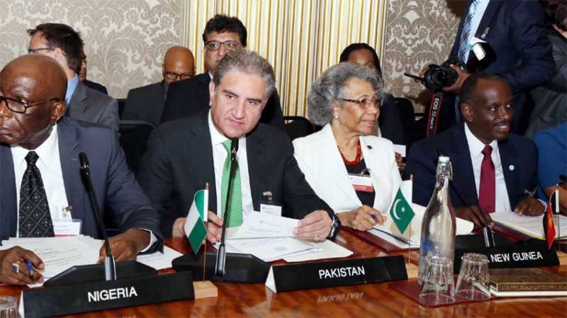 FM Qureshi reiterates commitment to deliver on Commonwealth's vision