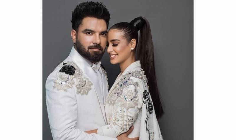 Iqra Aziz, Yasir Hussain respond to criticism for public proposal