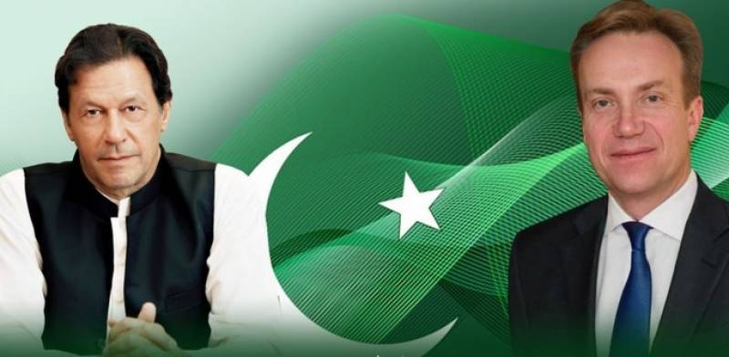 World Economic Forum president in Pakistan on first visit in 20 years