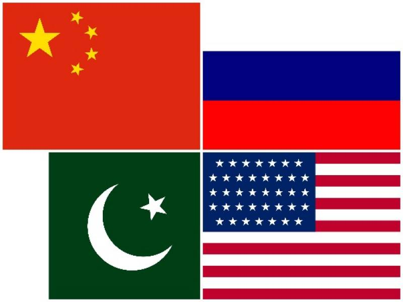 Pakistan, US, Russia, China agree to continue efforts for peace in Afghanistan
