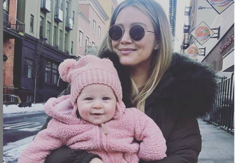 Hilary Duff says being a young mother was 'a little isolating'