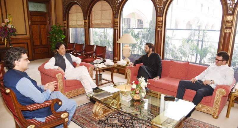 Shahid Afridi calls on PM Imran; visits ISPR
