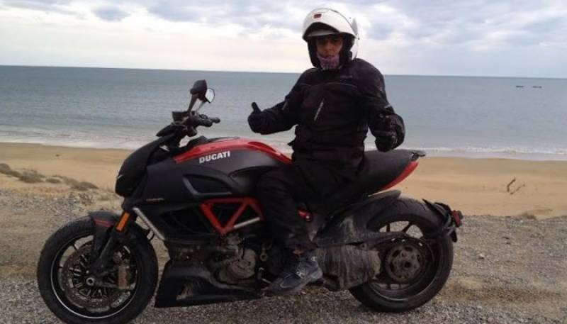 Ali Azmat to travel across Europe on his motorcycle for 22 days