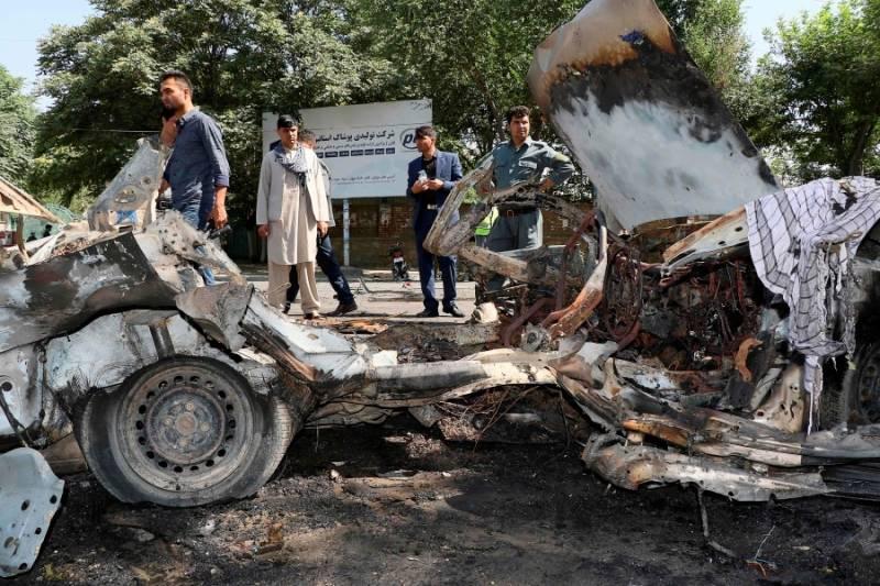 At least 8 killed in blast near Kabul University