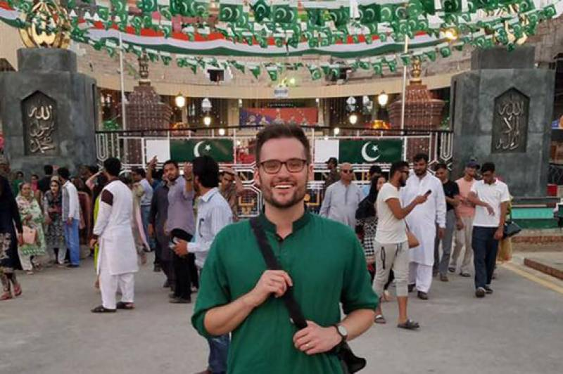 Jeremy Mclellan is visiting Pakistan and people can't keep calm