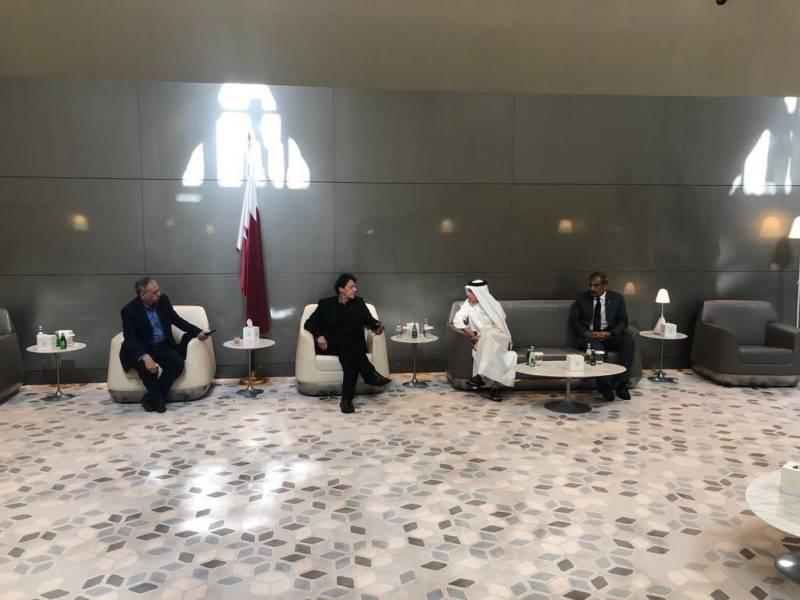 PM Imran meets CEO Qatar Airways during maiden US tour