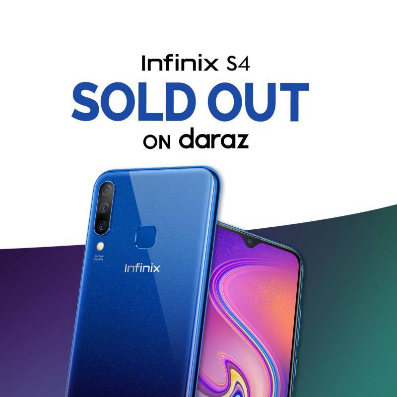 Infinix S4: Record breaking online sales for the smartphone with the highest pixel front camera