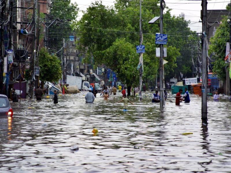 Rain-related incidents kill at least five in Rawalpindi & Lahore