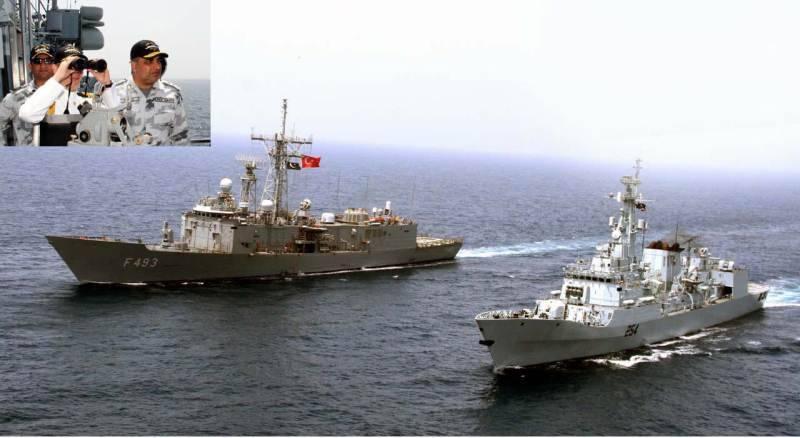 Pakistan, Turkey conduct joint naval exercise in Karachi