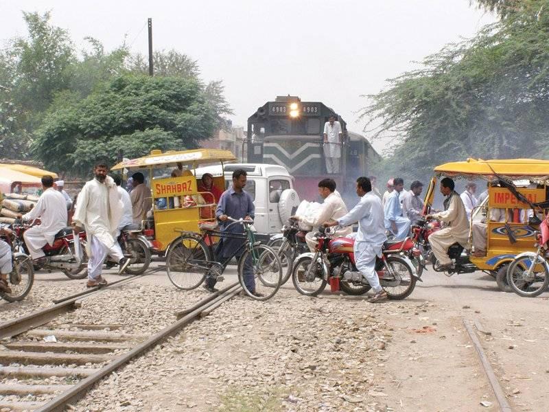 Two killed, minor injured in Sargodha train accident