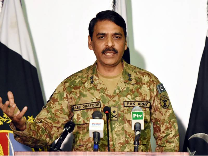 Increased ceasefire violations by India indicate frustration, says DG ISPR