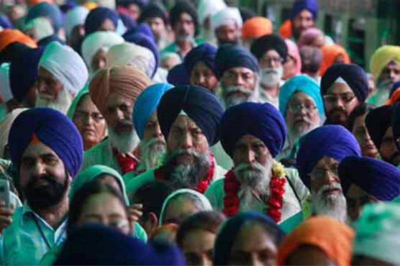 More than 500 Sikh pilgrims arrive in Pakistan for Baba Guru Nanak's birth anniversary celebrations