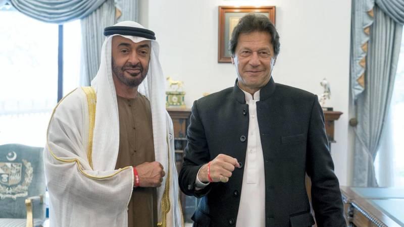 PM Imran, Abu Dhabi Crown Prince discuss bilateral relations