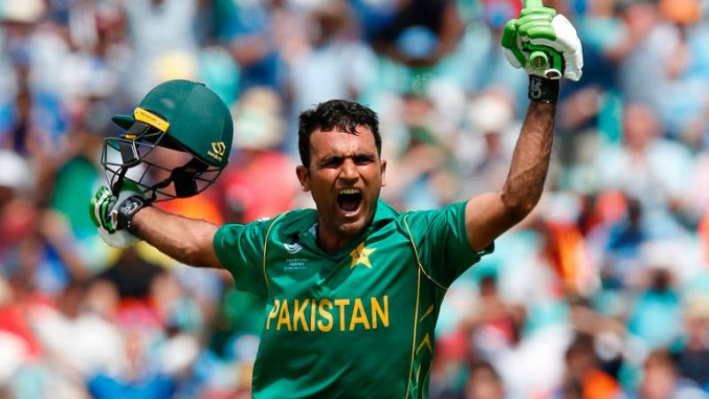 Fakhar hits first in 2019 Vitality T20 Blast