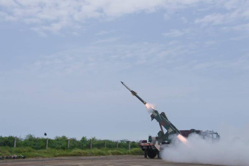 India test-fires 'quick reaction' air defense system amid Kashmir tensions