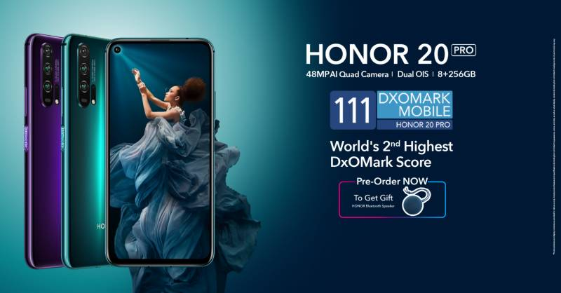 HONOR unveils flagship smartphone HONOR 20 Pro - Now available for pre booking