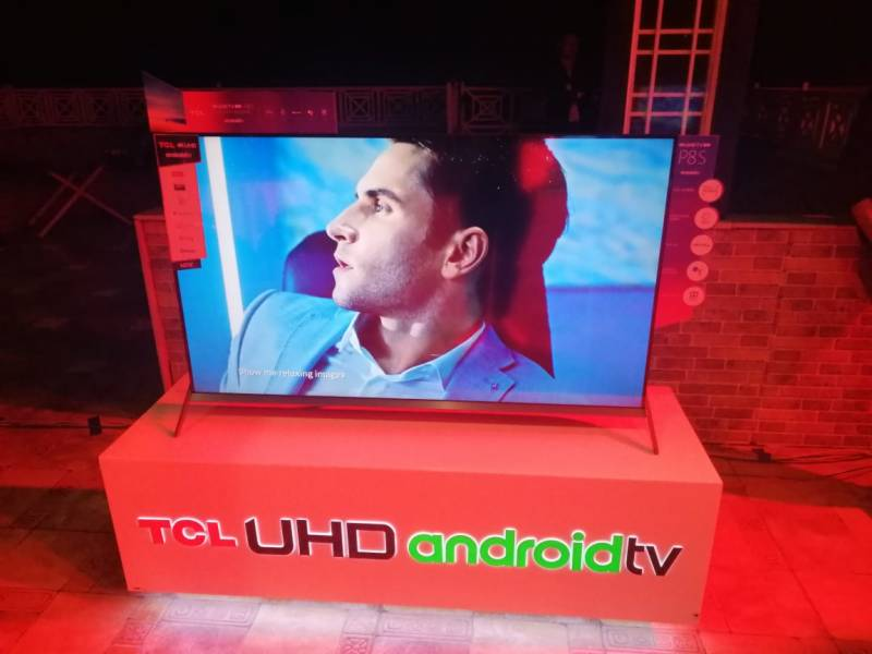 TCL launches P8S full-screen 4K AI TV in Pakistan