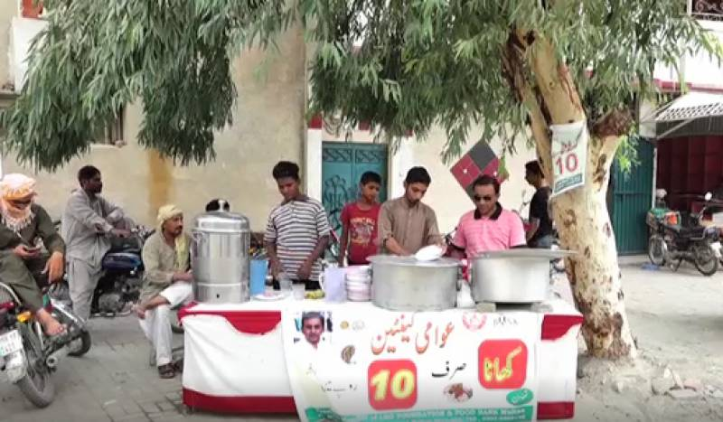 This man in Multan is feeding people for just Rs.10 a meal