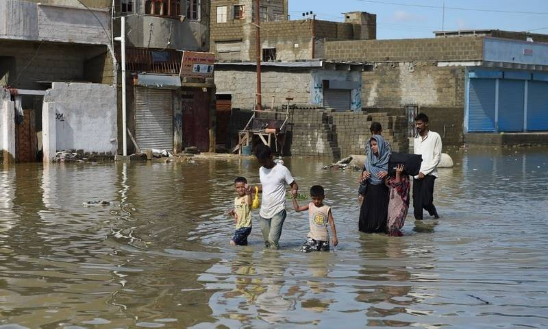 Heavy rains leave three perished; eight houses damaged in KP