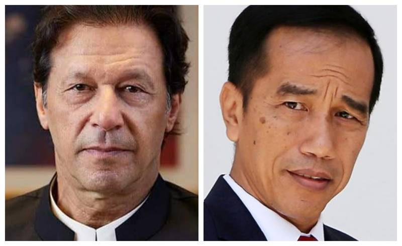 PM Imran contacts Indonesian president over grave situation in occupied J&K