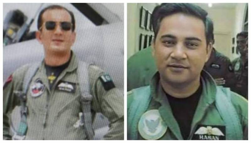 Hero Pakistani pilots, who shot down Indian jets, receive military awards