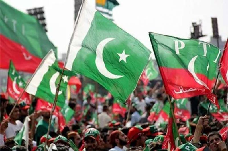 PTI holds rally to express their solidarity with Kashmiris from Rawalpindi to Islamabad today