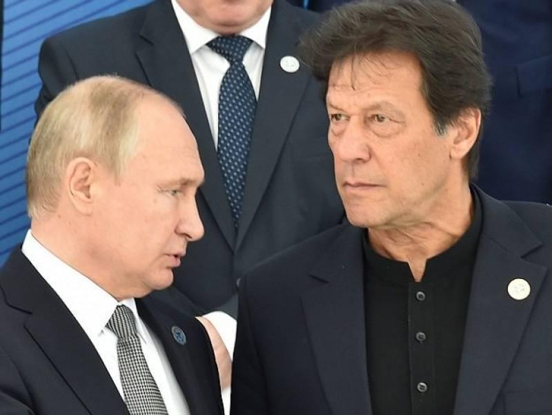 Putin congratulates Pakistan on Independence Day