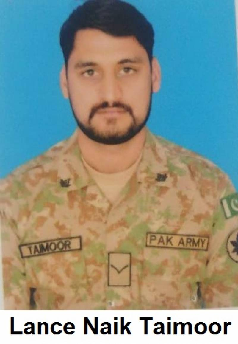 Shaheed Taimoor Aslam laid to rest in Lahore with full military honours