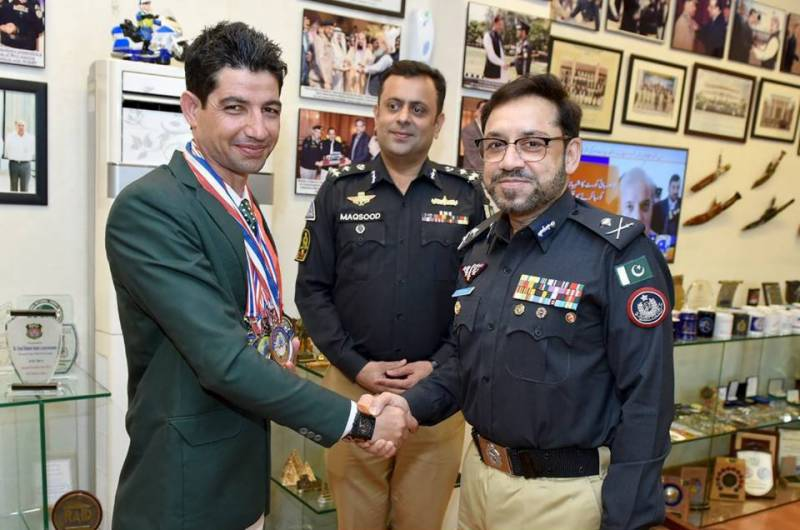 SSU Commando Khan Saeed Afridi bags silver medal in World Police Games