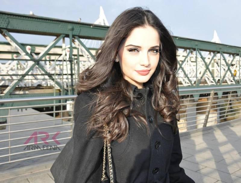 Some Pakistani celebs afraid to speak out against Indian atrocities: Armeena Rana Khan