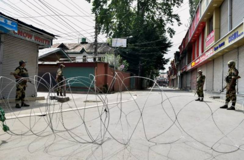 Curfew enters in the 16th consecutive day in Indian Occupied Kashmir