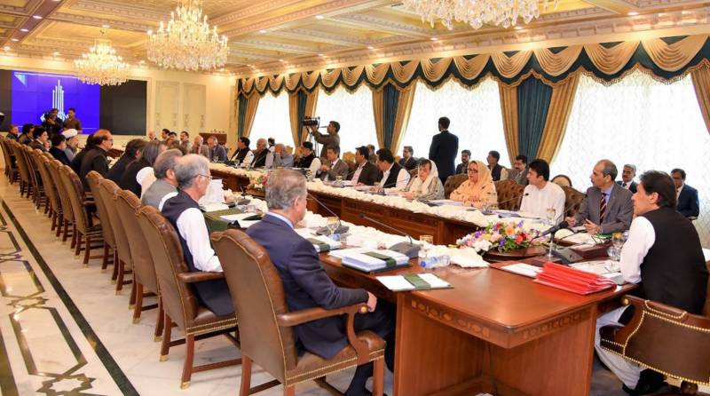 Federal Cabinet reviews situation in Occupied Kashmir, LoC