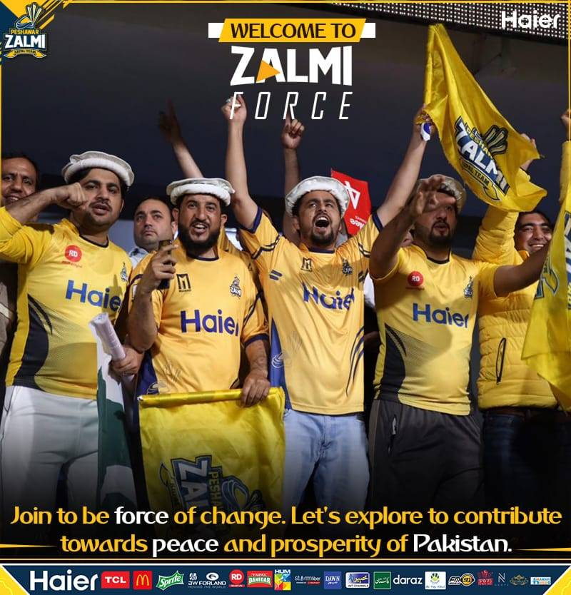 Peshawar Zalmi launches 'Zalmi force' for youth empowerment