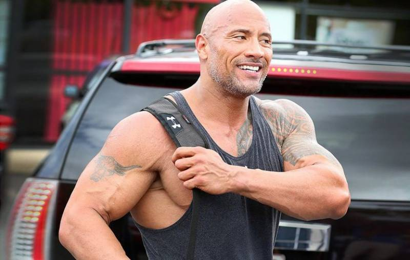 Dwayne Johnson ranked highest earning male actor of the year