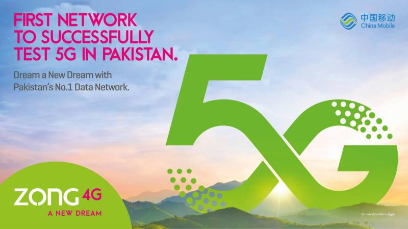 Zong conducts first 5G trials in Pakistan